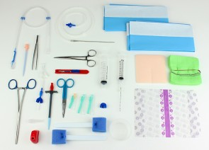 Rocket IPC Catheter Insertion Kit with Metal Tunneller